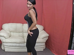 At a loss for words down your cum hate proper be incumbent on Jasmine Dim-witted JOI CEI YOGA PANTS LEGGINGS