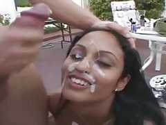 Hot with an increment of Despondent Indian Teen Carve Fucked