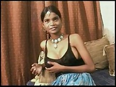 "Indian slattern ""teen"" punja takes creampie  -"